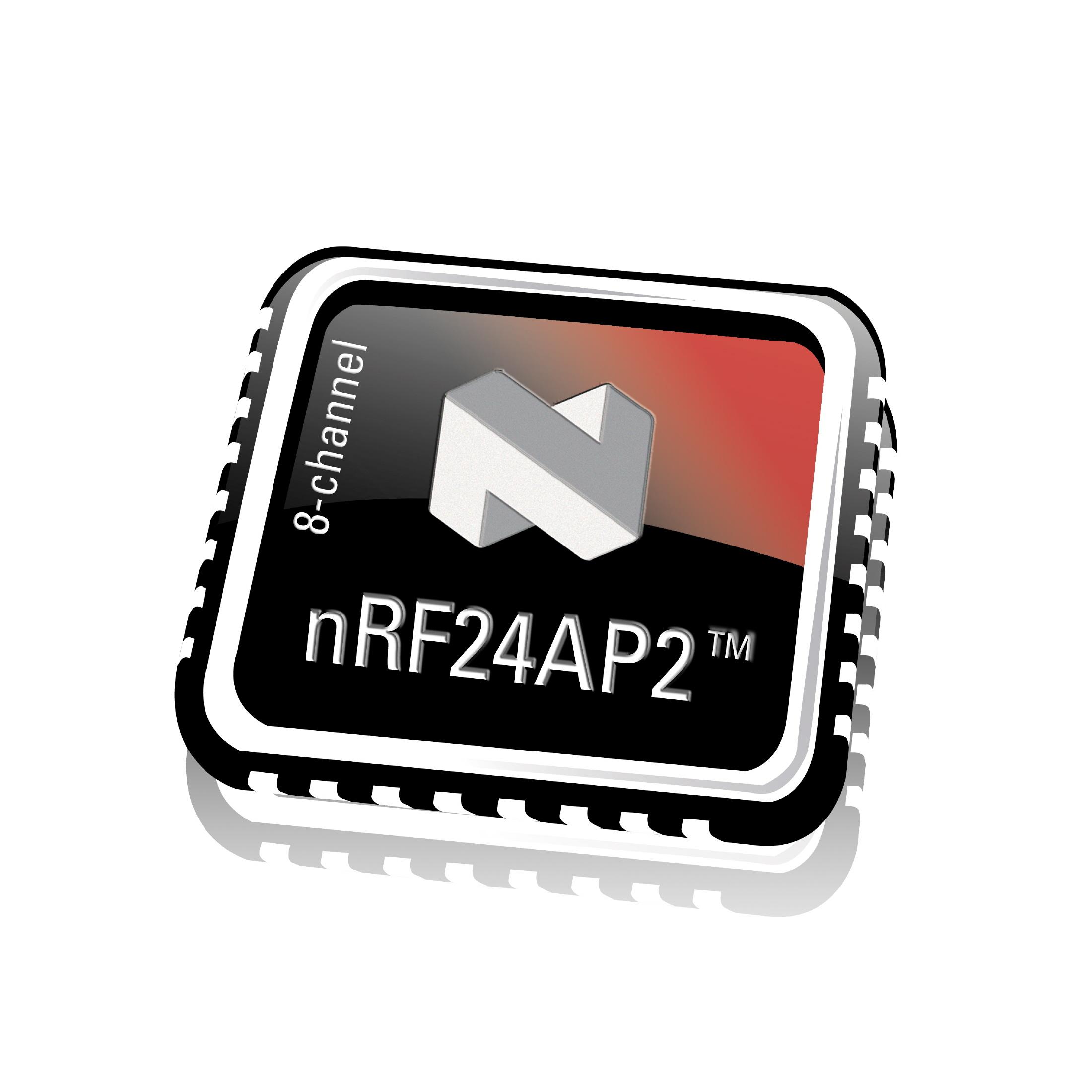 AUG09 Nordic nRF24AP2 8 chip HR klein