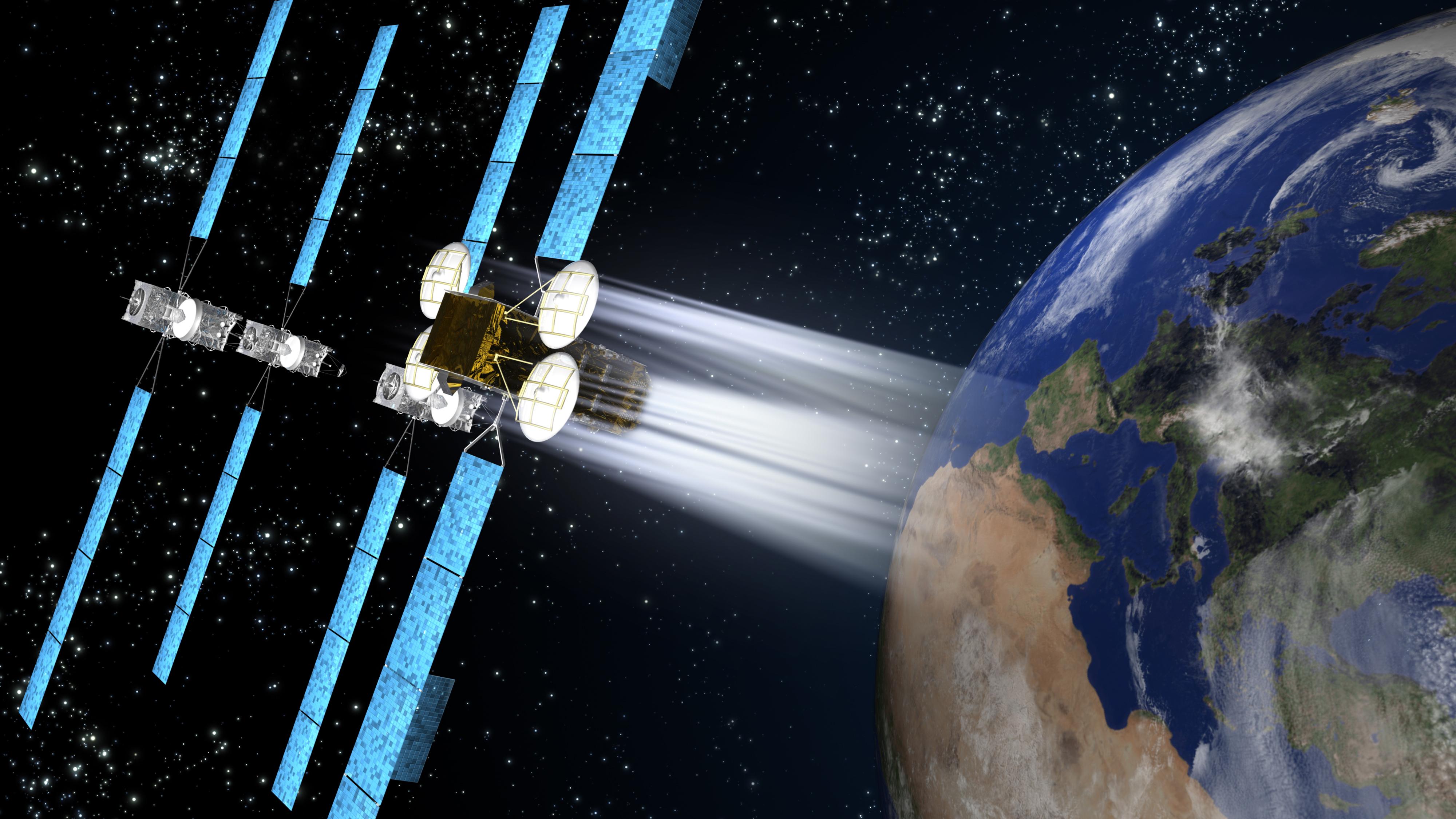 KA SAT in space 01