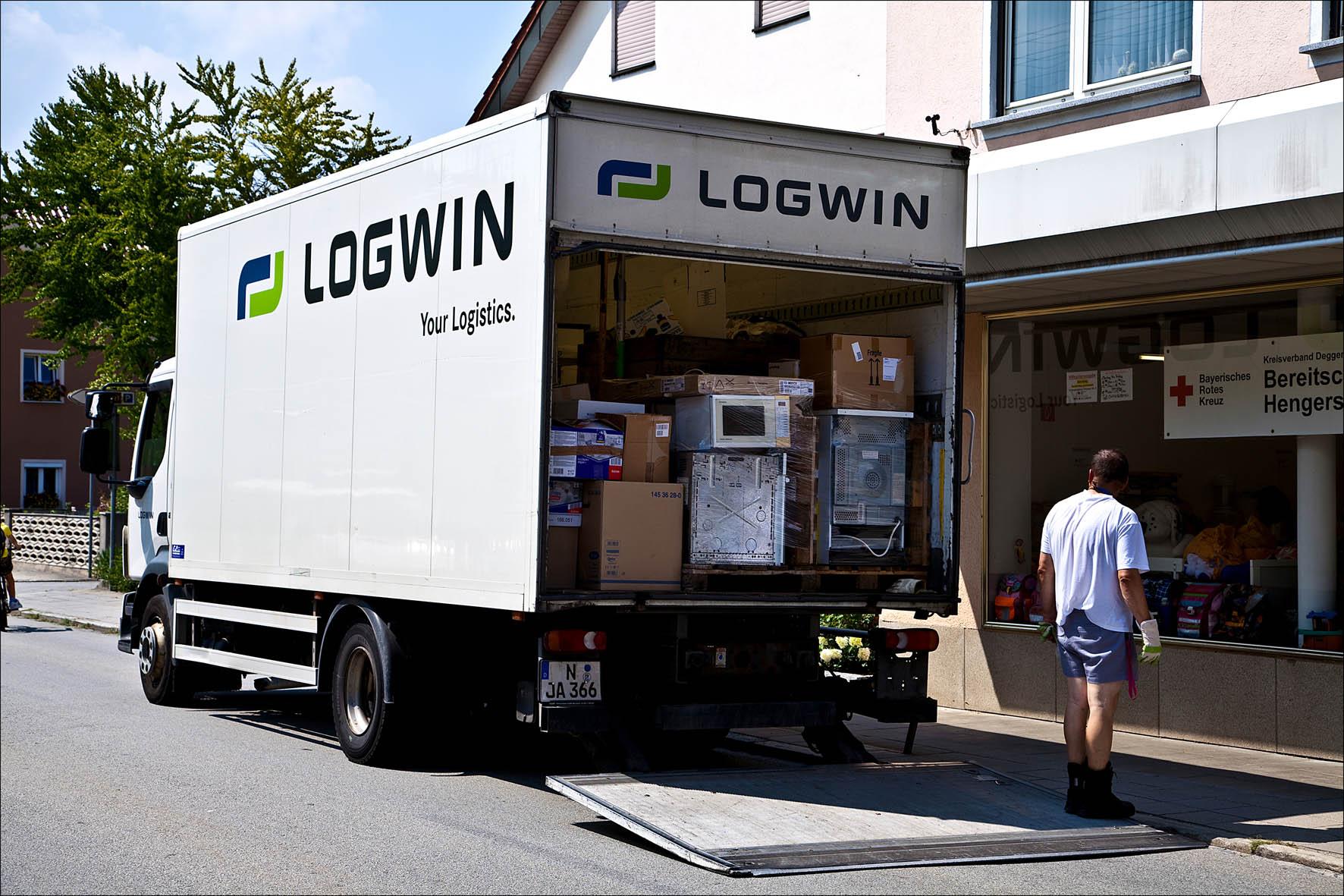 Logwin_Fluthilfe_2 Spannende solar Lichterketten Für Außen Dekorationen