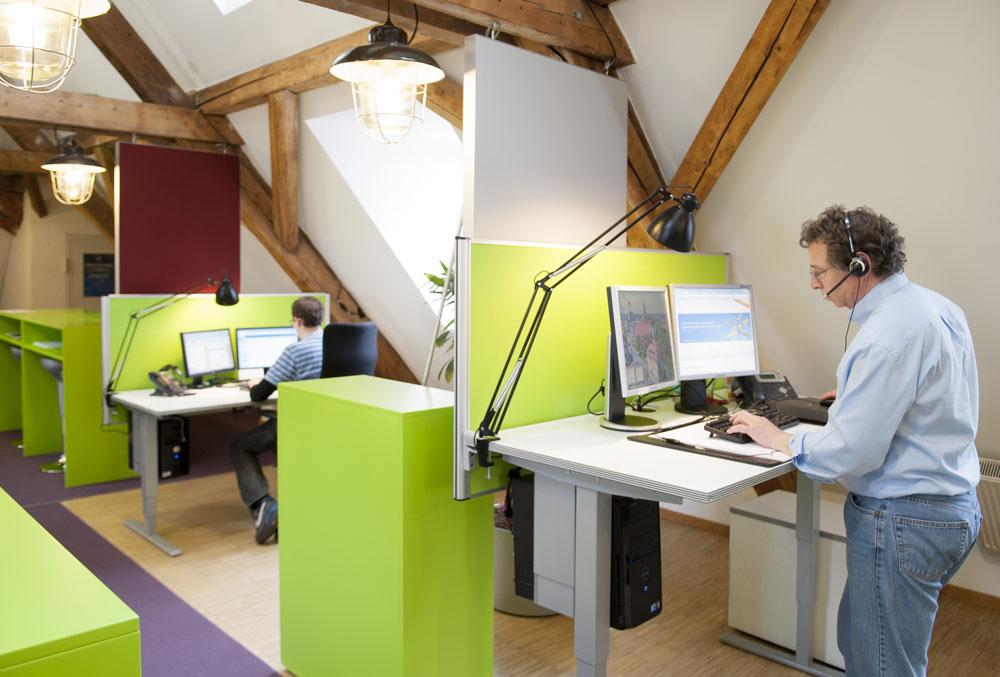 Techpilot Kundenservice Zentrum München Arbeitspätze