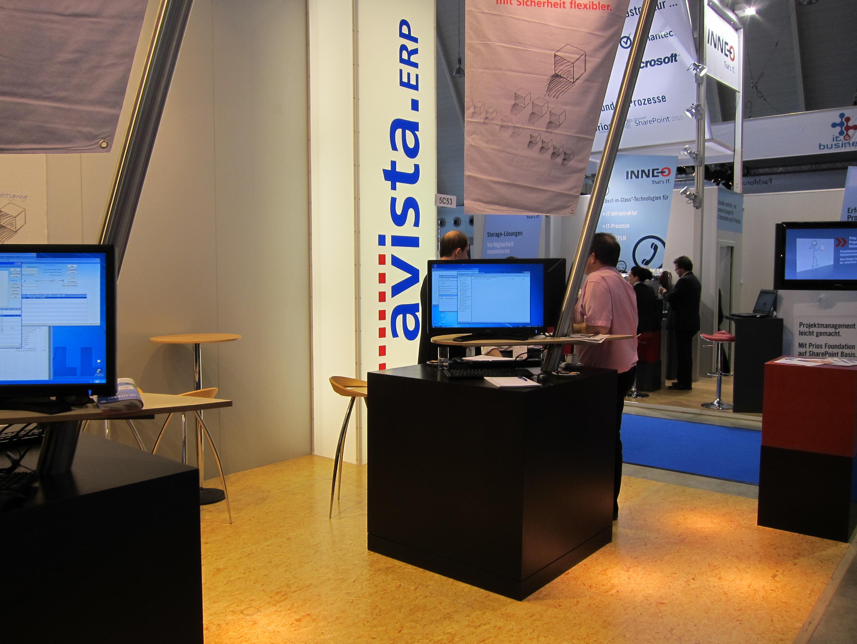 Avista_ERP_Messestand_IT_und_Business Schöne Außenleuchte Mit Steckdose Edelstahl Dekorationen